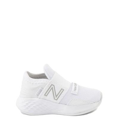 Main view of New Balance Fresh Foam Roav Slip On Athletic Shoe - Baby / Toddler - White