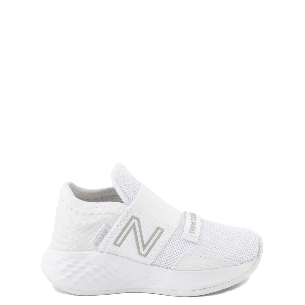 New Balance Fresh Foam Roav Slip On Athletic Shoe - Baby / Toddler - White