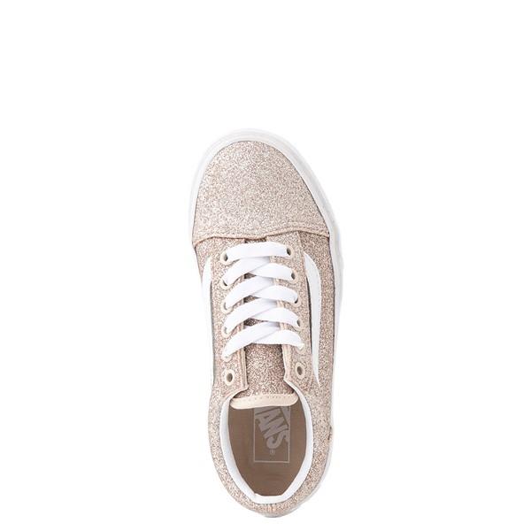 alternate view Vans Old Skool Glitter Skate Shoe - Big Kid - Brazilian SandALT2