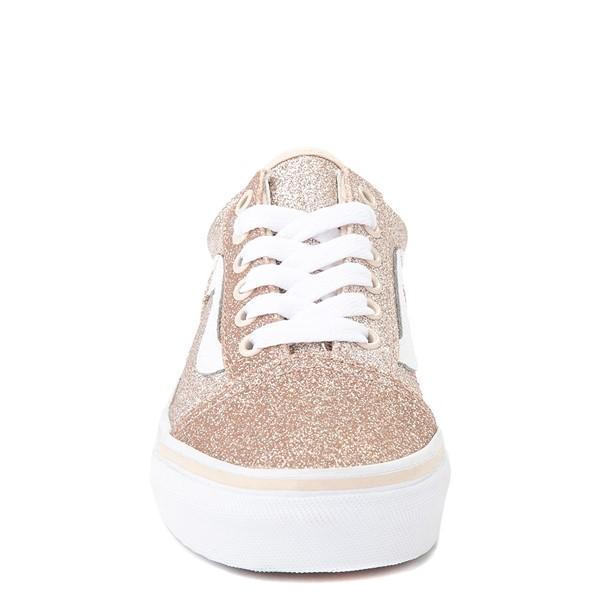 alternate view Vans Old Skool Glitter Skate Shoe - Big Kid - Brazilian SandALT4