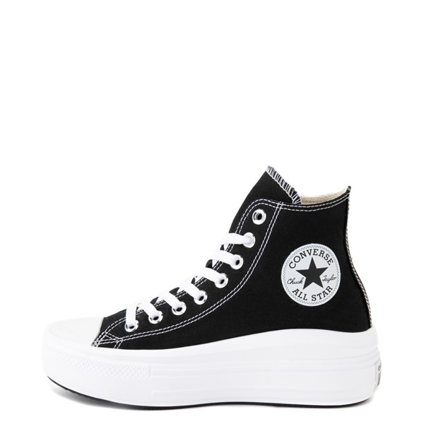 alternate view Womens Converse Chuck Taylor All Star Hi Move Platform Sneaker - BlackALT1