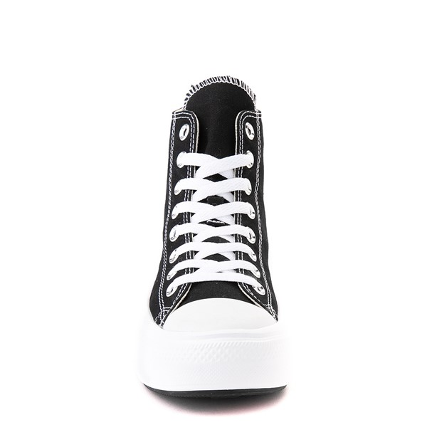 alternate view Womens Converse Chuck Taylor All Star Hi Move Platform Sneaker - BlackALT4