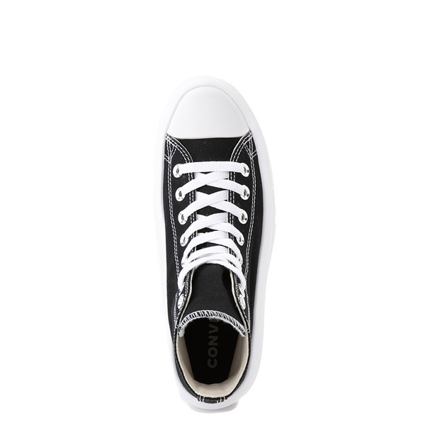 alternate view Womens Converse Chuck Taylor All Star Hi Move Platform Sneaker - BlackALT4B