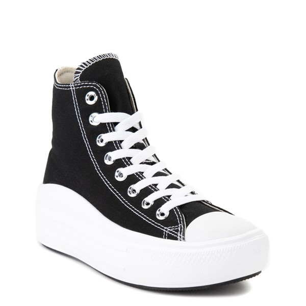 alternate view Womens Converse Chuck Taylor All Star Hi Move Platform Sneaker - BlackALT5