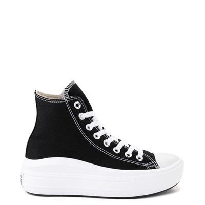 Main view of Womens Converse Chuck Taylor All Star Hi Move Platform Sneaker - Black