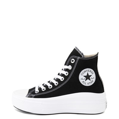 Alternate view of Womens Converse Chuck Taylor All Star Hi Move Platform Sneaker - Black