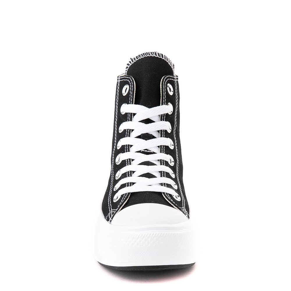 Womens Converse Chuck Taylor All Star Hi Move Platform Sneaker White Monochrome
