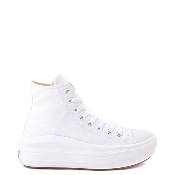 Womens Converse Chuck Taylor All Star Hi Move Platform Sneaker - White