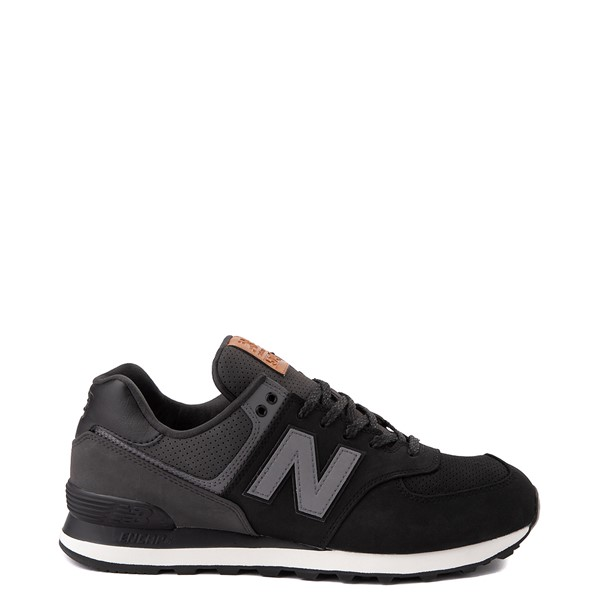 Mens New Balance 574 Athletic Shoe - Black / Gray