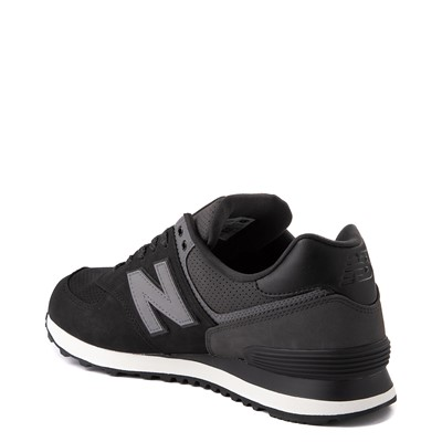 Alternate view of Mens New Balance 574 Athletic Shoe - Black / Gray