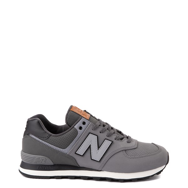 Main view of Mens New Balance 574 Athletic Shoe - Charcoal