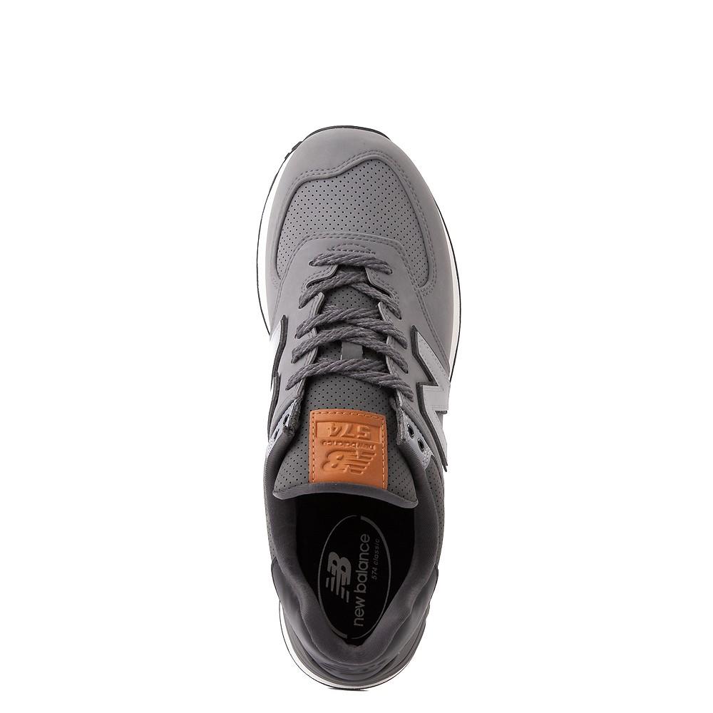 Mens New Balance 574 Athletic Shoe - Charcoal