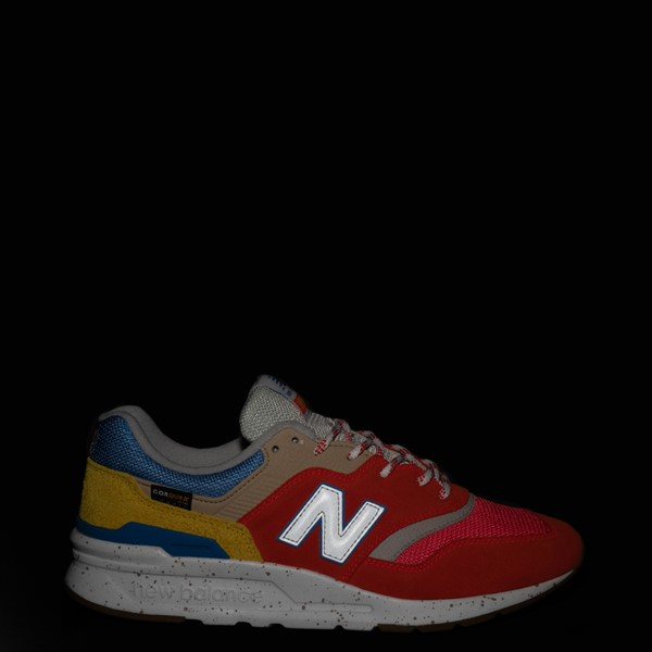 alternate view Mens New Balance 997H Athletic Shoe - Red / Blue / YellowALT1