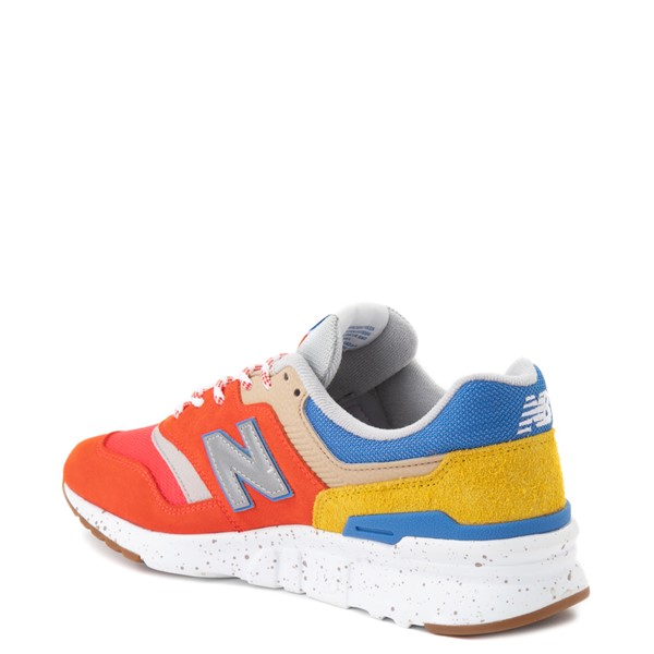 alternate view Mens New Balance 997H Athletic Shoe - Red / Blue / YellowALT1B