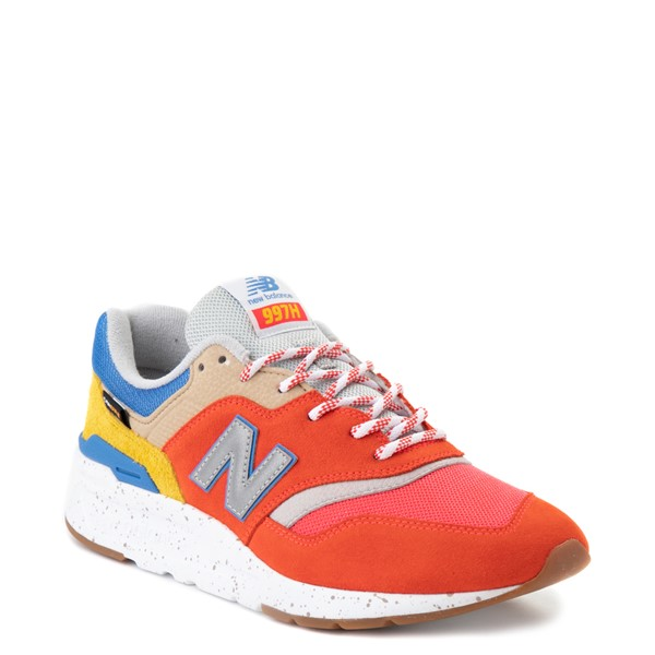 alternate view Mens New Balance 997H Athletic Shoe - Red / Blue / YellowALT5