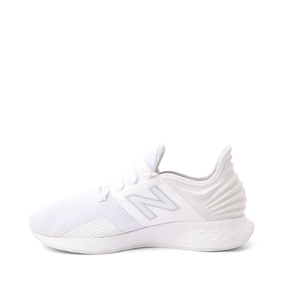 Alternate view of Mens New Balance Fresh Foam Roav Athletic Shoe - White / Gray
