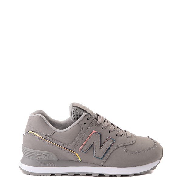 Womens New Balance 574 Athletic Shoe - Gray / Iridescent