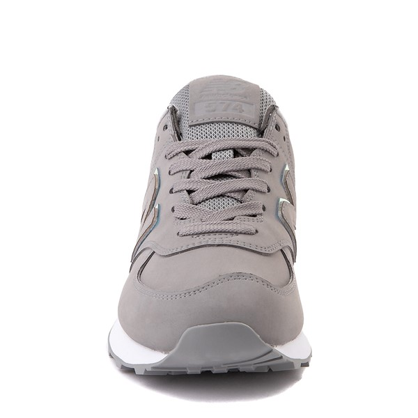 alternate view Womens New Balance 574 Athletic Shoe - Gray / IridescentALT4