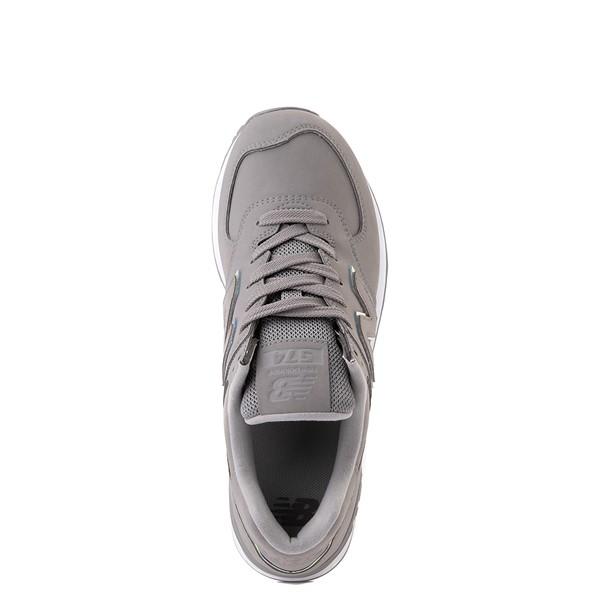 alternate view Womens New Balance 574 Athletic Shoe - Gray / IridescentALT4B