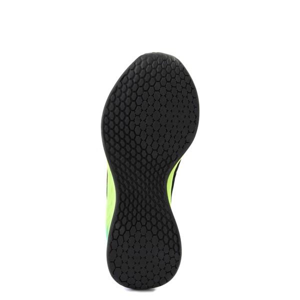 alternate view Womens New Balance Fresh Foam Roav Athletic Shoe - Black / RainbowALT3