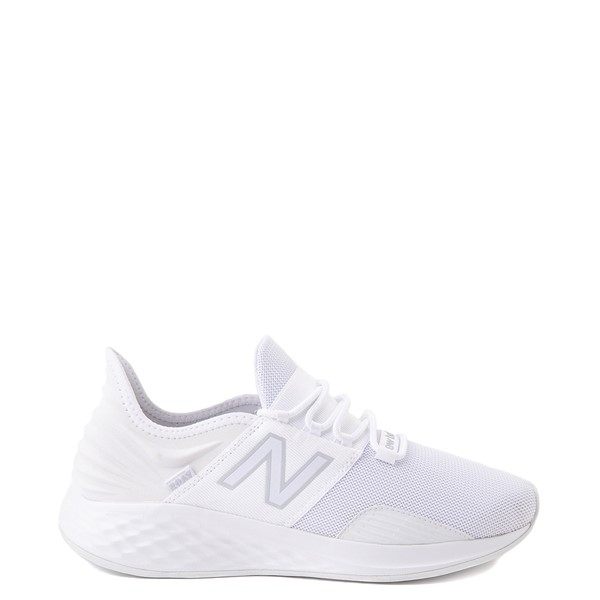 Womens New Balance Fresh Foam Roav Athletic Shoe - White / Gray