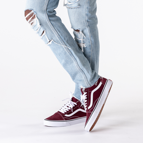 alternate view Vans Old Skool Skate Shoe - Port RoyaleB-LIFESTYLE1