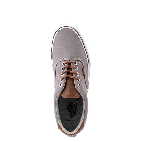 alternate view Vans C&L Era 59 Skate Shoe - Frost Gray / Acid DenimALT2