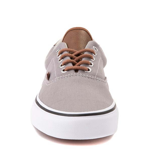 alternate view Vans C&L Era 59 Skate Shoe - Frost Gray / Acid DenimALT4