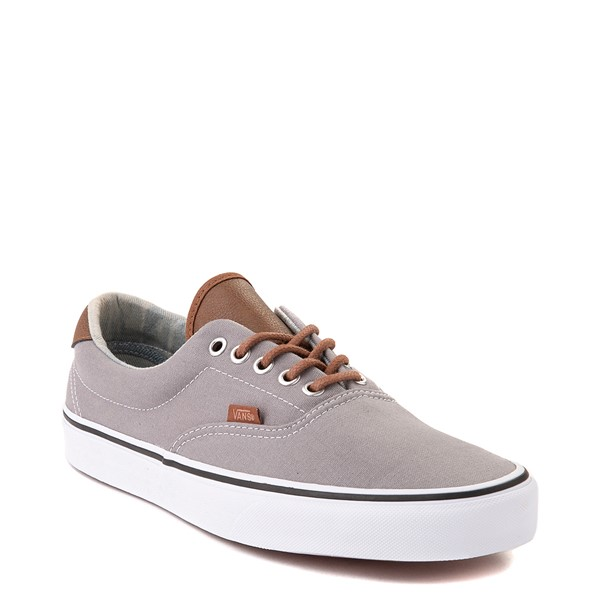 alternate view Vans C&L Era 59 Skate Shoe - Frost Gray / Acid DenimALT5