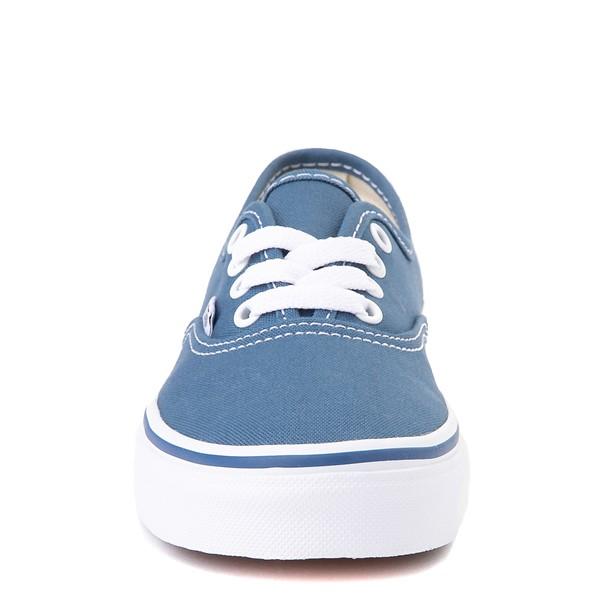 alternate view Vans Authentic Skate Shoe - Little Kid - NavyALT4