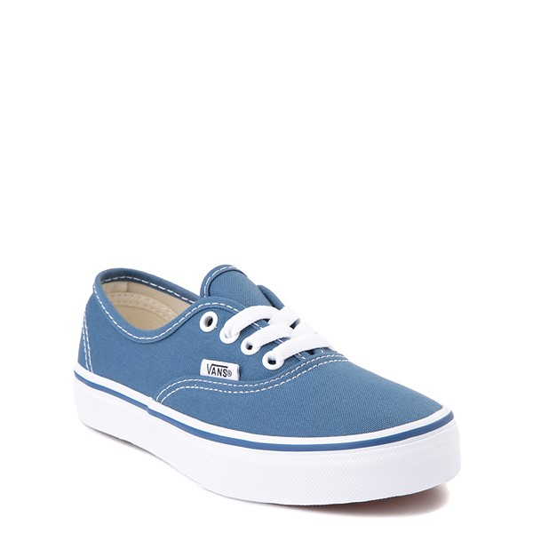 alternate view Vans Authentic Skate Shoe - Little Kid - NavyALT5