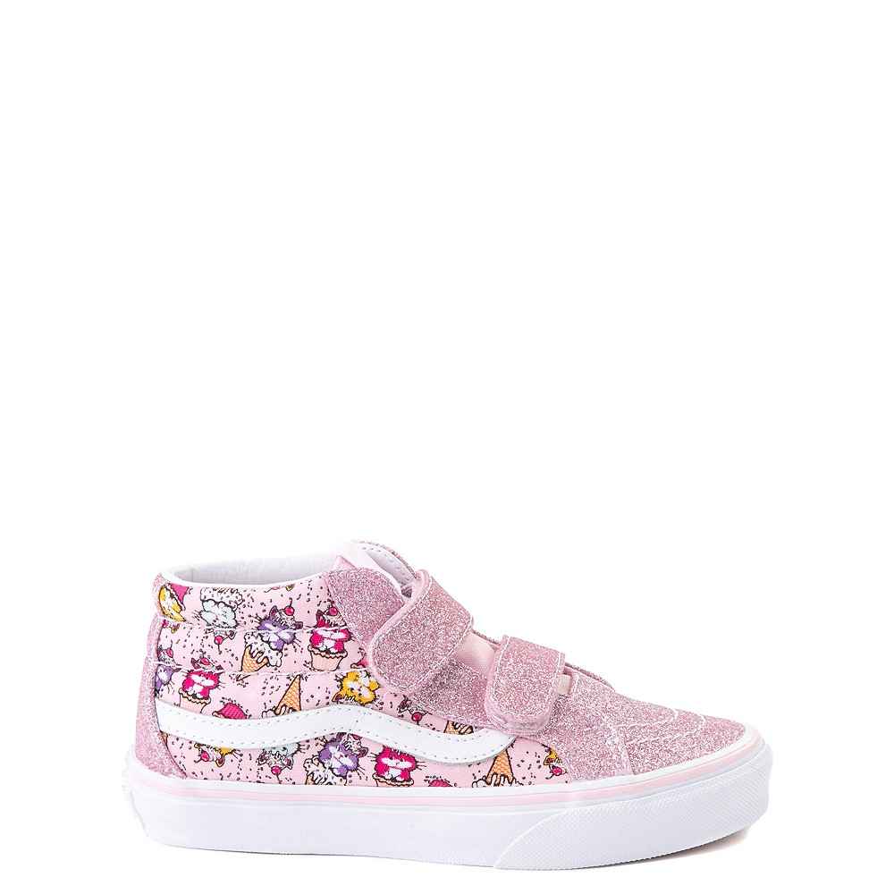 Vans Sk8 Mid Reissue V Kitty Cake Skate Shoe - Little Kid - Blush