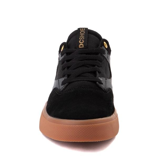 alternate view Mens DC Kalis Vulc Skate Shoe - Black / GrayALT4