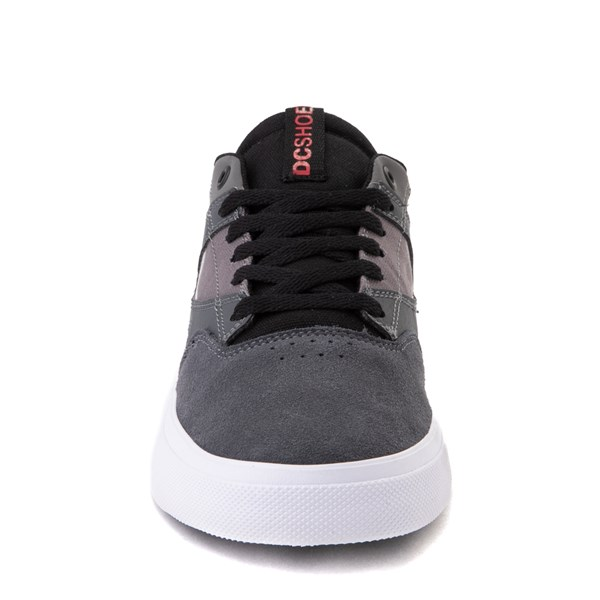 alternate view Mens DC Kalis Vulc Skate Shoe - Gray / BlackALT4