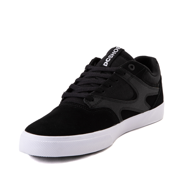 alternate view Mens DC Kalis Vulc Skate Shoe - BlackALT2