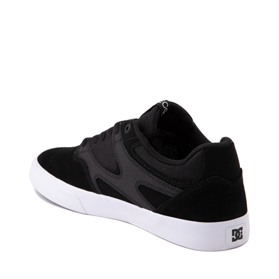 Alternate view of Mens DC Kalis Vulc Skate Shoe - Black
