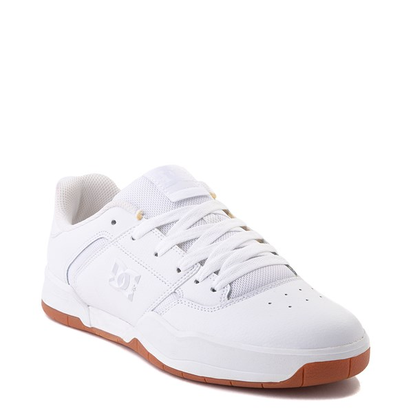 alternate view Mens DC Central Skate Shoe - White MonochromeALT1