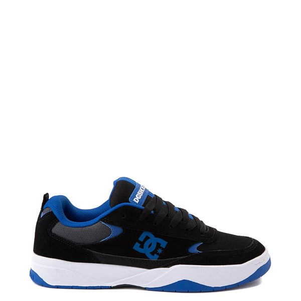 Mens DC Penza Skate Shoe - Black / Nautical Blue