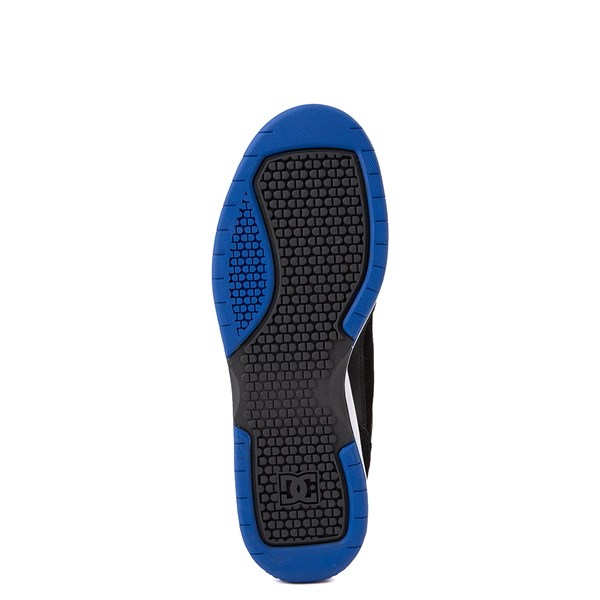 alternate view Mens DC Penza Skate Shoe - Black / Nautical BlueALT5