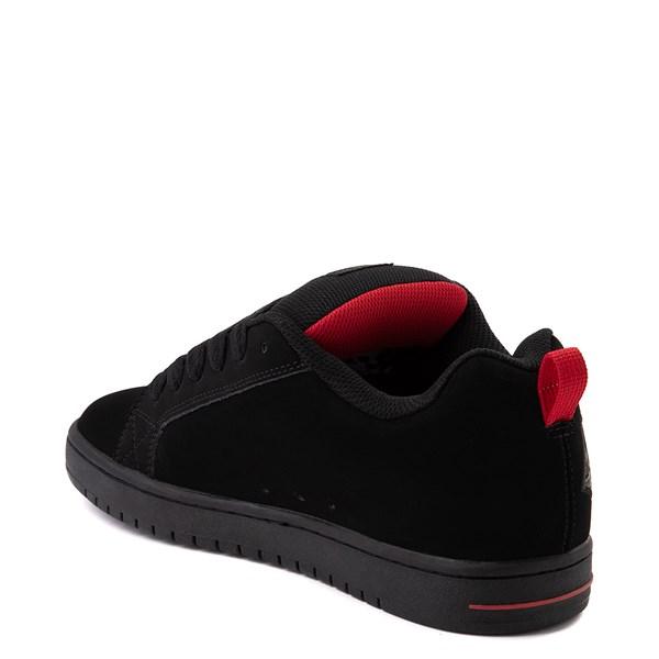 alternate view Mens DC Court Graffik SE Skate Shoe - Black / CamoALT2