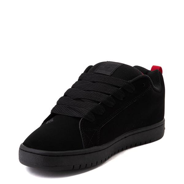 alternate view Mens DC Court Graffik SE Skate Shoe - Black / CamoALT3