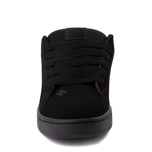alternate view Mens DC Court Graffik SE Skate Shoe - Black / CamoALT4