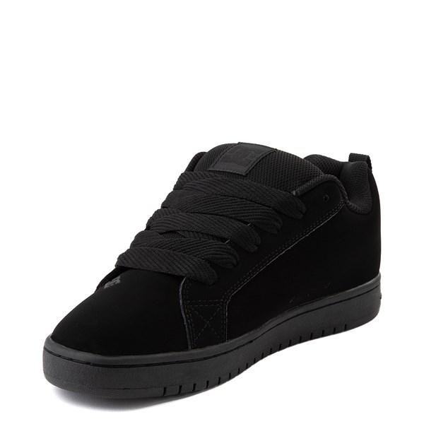 alternate view Mens DC Court Graffik Skate Shoe - Black / GrayALT3