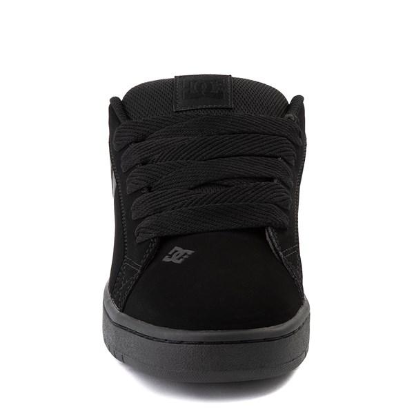 alternate view Mens DC Court Graffik Skate Shoe - Black / GrayALT4