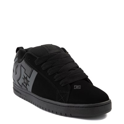 Alternate view of Mens DC Court Graffik Skate Shoe - Black / Gray