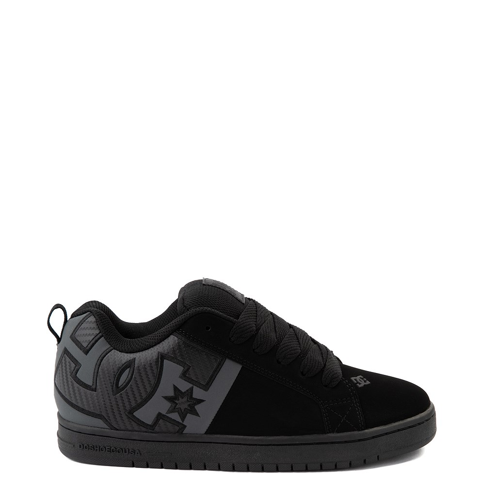 Mens DC Court Graffik Skate Shoe - Black / Gray