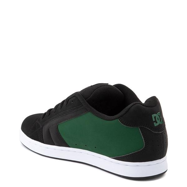 alternate view Mens DC Net Skate Shoe - Black / GreenALT2