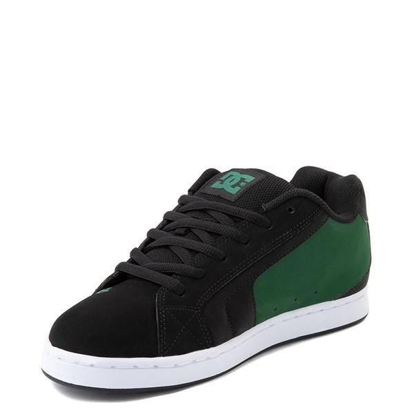 alternate view Mens DC Net Skate Shoe - Black / GreenALT3