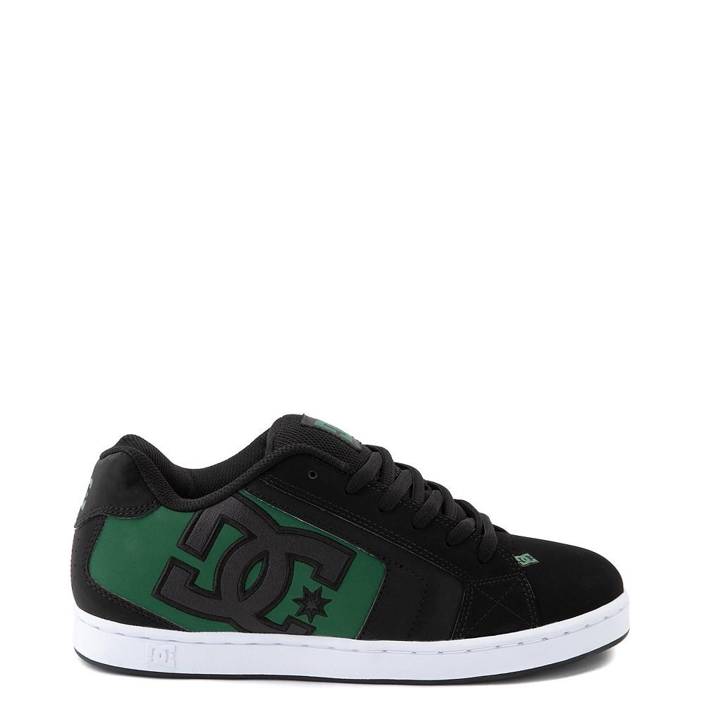 Mens DC Net Skate Shoe - Black / Green