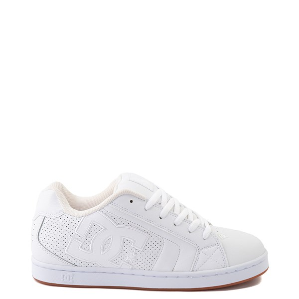 Mens DC Net Skate Shoe - White / Gum